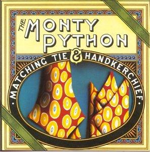 Monty Python album cover, Matching Tie & Handkerchief