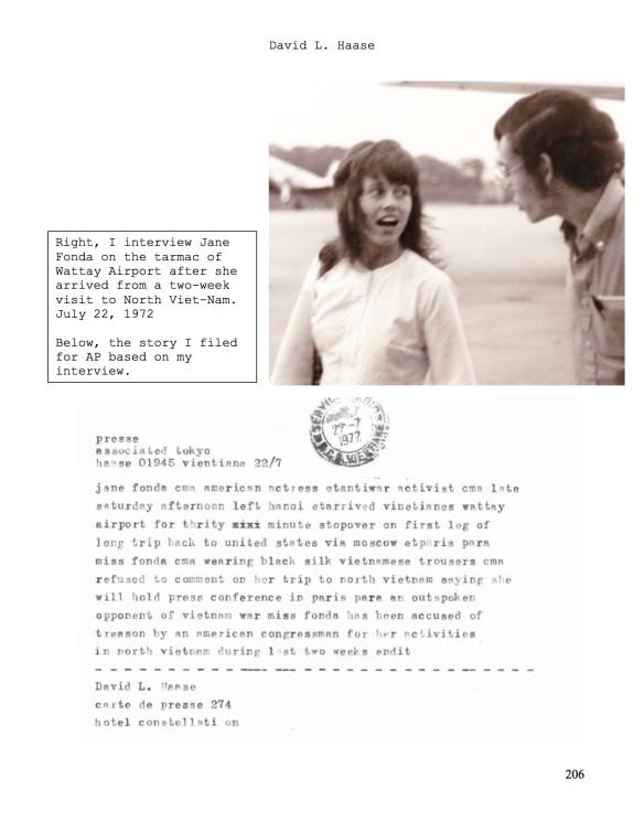 Jane Fonda and me