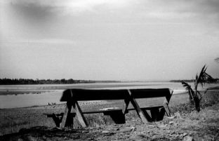 'My' bench on the Mekong